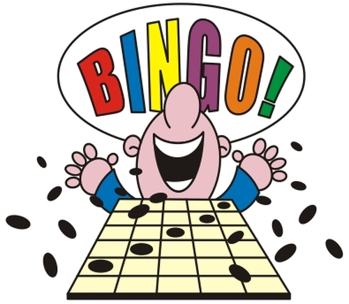 Bingo  (Second Tuesday of each month @ 2PM)